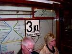 3. Klasse-Schild im Innenraum