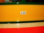 Wagennummer außen