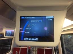 Zug fährt weiter auf U1