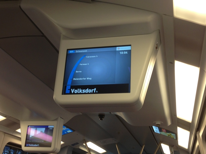 Ziel geändert. Zug fährt nun offiziell bis Ochsenzoll