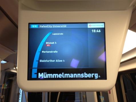 Eine U4 zwischen Mümmelmannsberg und Billstedt?!