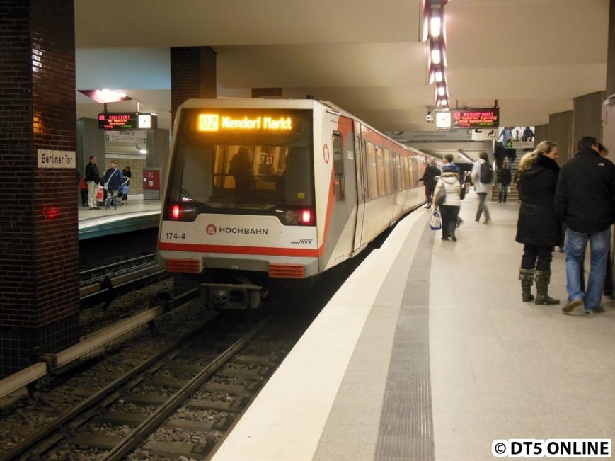 174 in Berliner Tor (U2 Niendorf Markt)