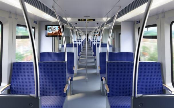 """S-Bahnfahrzeug vom Typ """"ET 490"""""""