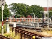 Für mich ging es schließlich herüber zur S-Bahn, das hier ist bereits der dritte Zug seit Abfahrt des Pendelzuges.
