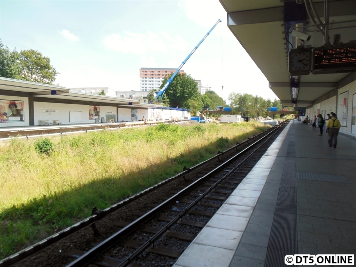 Und vom westlichen Bahnsteigende noch ein letztes Mal.