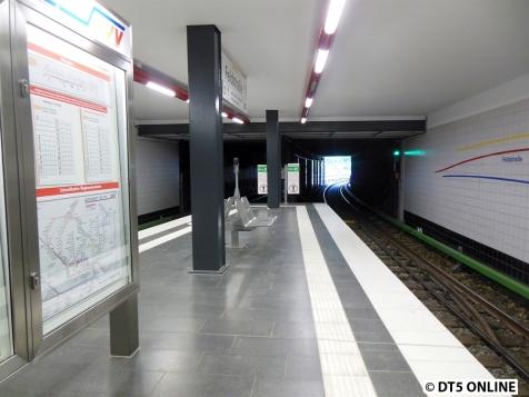 Nördliches Bahnsteigende