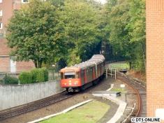 """Fast schon historisch, denn die sechs LZB-Züge galten als """"Fremdlinge"""" und zählen bereits nur noch zur Betriebsreserve. Dennoch sind sie noch täglich im Betrieb zu sehen."""