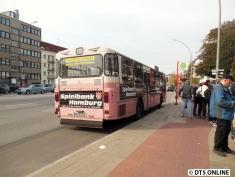 MB O 305-Schnellbus (HOV) am Schlump