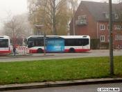 Der Bus in der Totalen