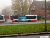 Der Bus in der Totalen