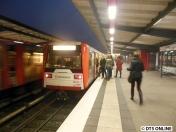 Hiermit ging es dann weiter zur Kellinghusenstraße: DT3 891/820.
