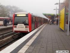 Etwas mehr Nebel bot noch Wandsbek-Gartenstadt.