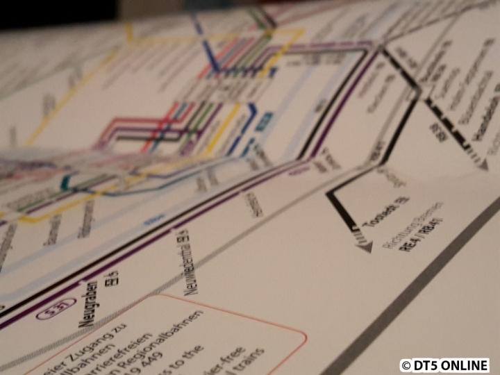 Wie bereits vor einigen Wochen bekannt wurde, hat sich einiges im Netzplan der Schnell- und Regionalbahnen getan. Mehr dazu in einem gesonderten Artikel.