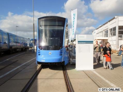 """Die """"T1"""" ist zur Zeit der Messe seit einigen Tagen in München unterwegs"""