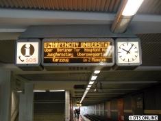 """Vor exakt zwei Jahren tauchte auch hier erstmals """"U4 HafenCity Universität"""" auf"""