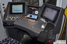 Fahrerpult des IK 1025