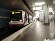 U3 Wandsbek-Gartenstadt, 3. März 2015