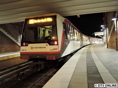 U1 Norderstedt Mitte, 8. März 2015
