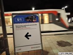 U1 Kellinghusenstraße, 2. März 2015