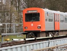 "Auf Kehrgleis 11 als ""U1 Jungfernstieg"", 5. März 2015"