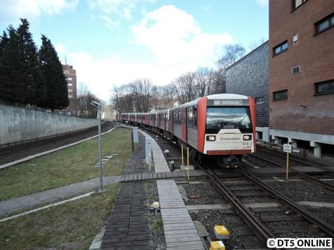 U3 Schlump, 12. März 2015