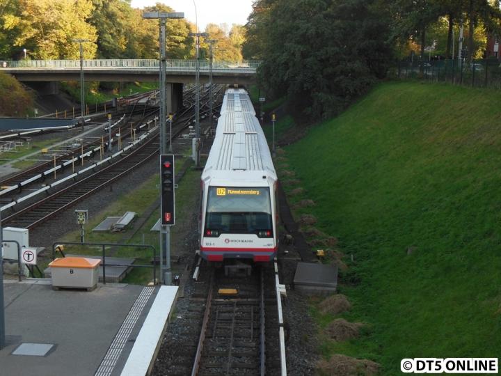 DT4 123 unter Öjendorfer Brücke