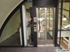 Der Aufzug von oben