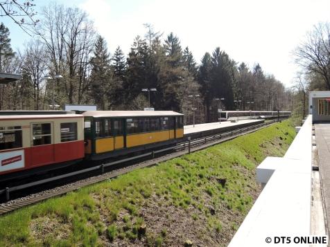 T-Wagen in Meiendorfer Weg