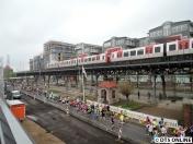Viele DT5 fuhren im Ringbetrieb. Der Zugverkehr wurde verstärkt auf einen 5 Minuten-Takt in der City.