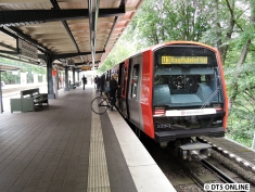 333 in Saarlandstraße (U3 Hauptbahnhof Süd)