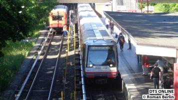 DT4 191 im Bahnhof Berne