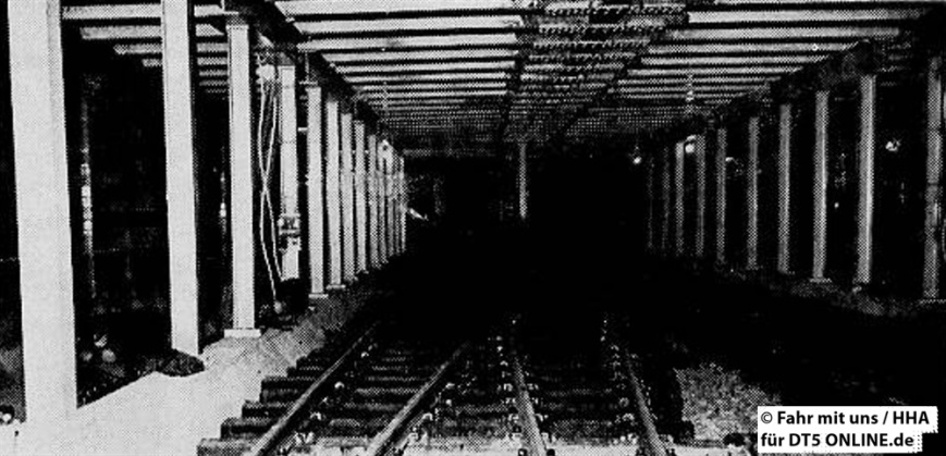 """""""Das war einmal die Haltestelle Hellkamp"""" - Foto: HOCHBAHN / Fahr mit uns 1-1965"""