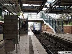 Der LINT wird erst nach der S21-Verlängerung hier regelmäßiger Gast, dann heißt die Linie aber auch nicht mehr A2 sondern A1.
