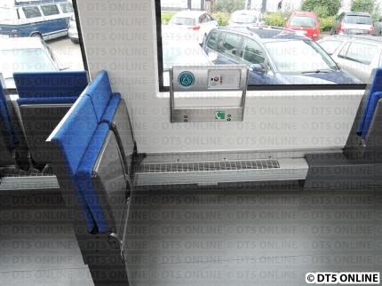 Stellplatz für Rollstuhlfahrer