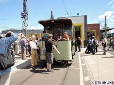 Straßenbahnausstellung, BVG-Betriebshof Lichtenberg, 28.6.2015 (2)