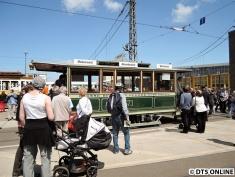 Straßenbahnausstellung, BVG-Betriebshof Lichtenberg, 28.6.2015