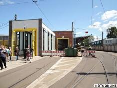 Straßenbahnhalle, BVG-Betriebshof Lichtenberg, 28.6.2015