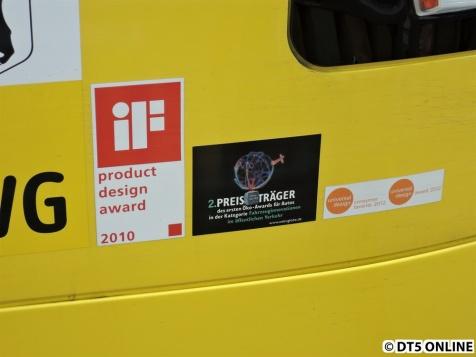 Die Flexity Berlin hat viele verschiedene Preise gewonnen. Auch einen für Autos. Paradox...