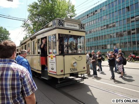 Im Umbauzustand von 1950 bis 1967 auf den Linien West-Berlins im Einsatz, Beiwagen bis 1963 auf allen Linien im Einsatz