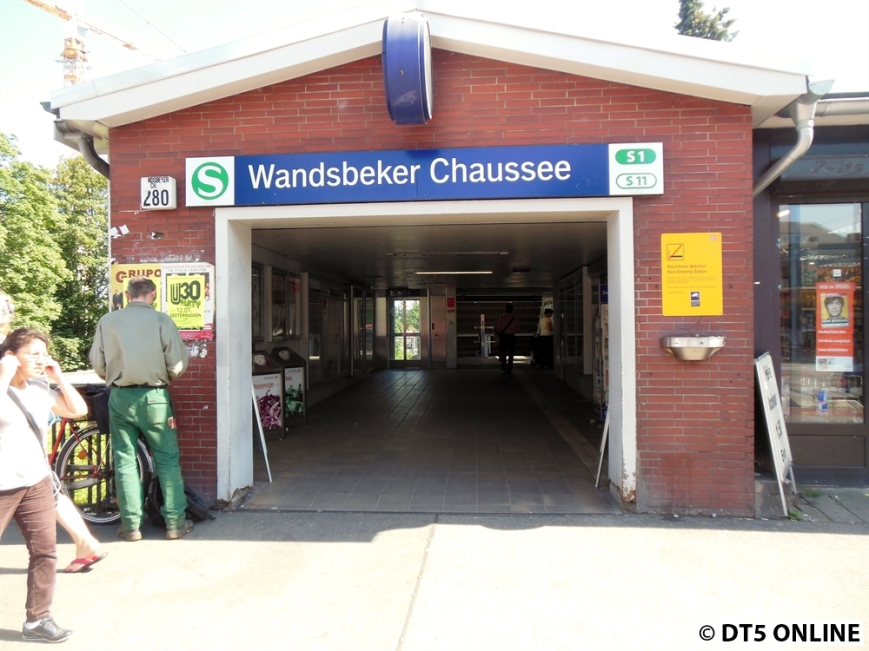 Wandsbeker Chaussee (S1)