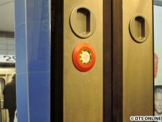 Die Türöffner könnten auch neu sein, zumindest sehen sie noch relativ frisch aus