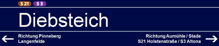 Diebsteich (S21/S3)