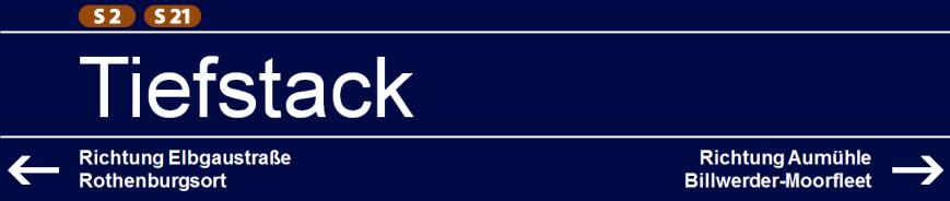 Tiefstack (S2/S21)