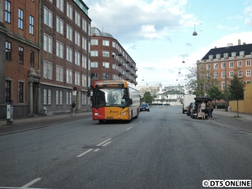 Unterwegs auf dem Weg zurück zur Autobahn begegnen mir noch zwei Busse...