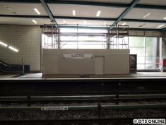 Blick zum neuen Bahnhofsvorplatz