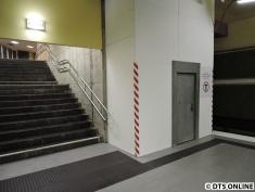 Hier entsteht der erste Aufzug