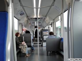 Innenraum während der Fahrt
