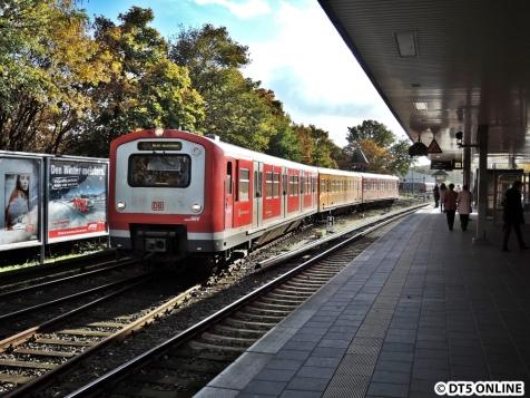 Schienenreinigungszug der S-Bahn, kein ADAC-Motiv ;)