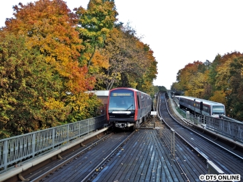 U3 nach Wandsbek-Gartenstadt