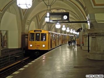 Wechsel ins Kleinprofil: Die U3 am Heidelberger Platz